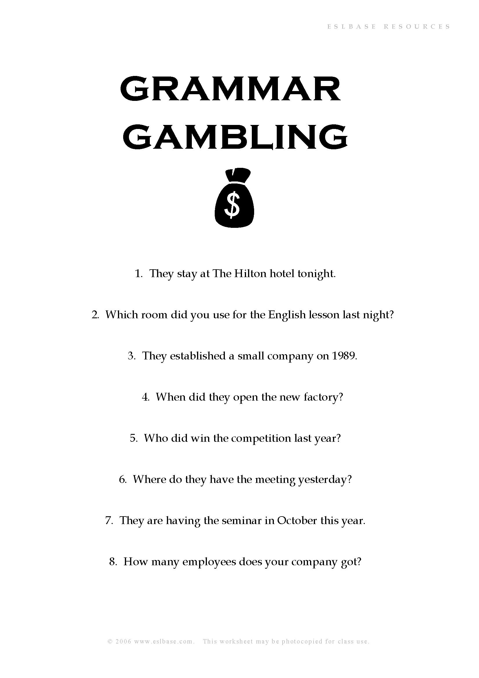 Gambling counselling hobart