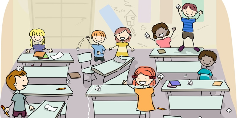 Controlling a large ESL class