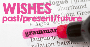 English grammar - Wish